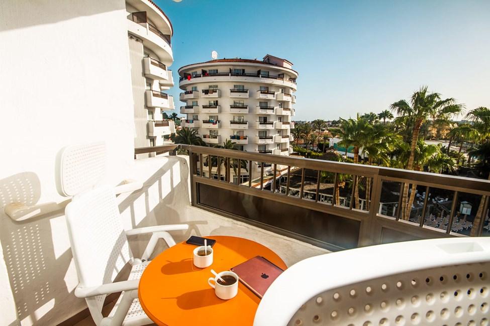 Dubbelrum superior med balkong