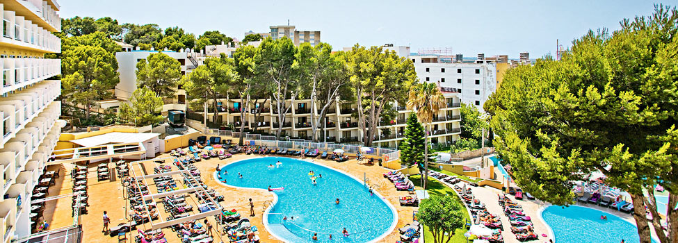 Aluasun Torrenova Hotel (Ex Marina Torrenova), Palma Nova/Magaluf, Mallorca, Spanien