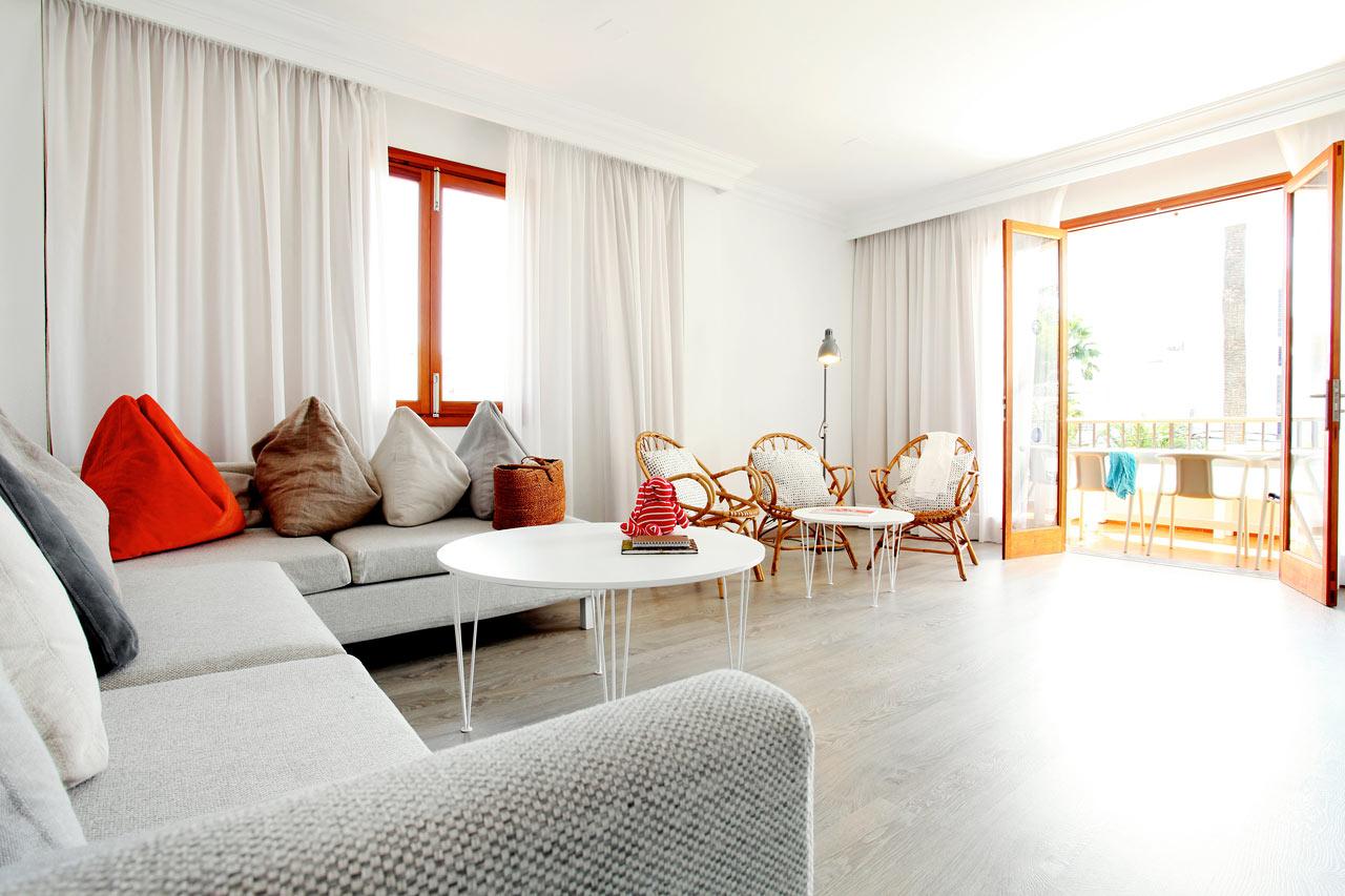 I Villa Isabel bor du i ljusa, luftiga och modernt inredda lägenheter.