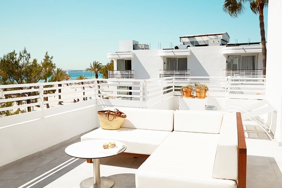 Tvårumslägenhet ROYAL ROOFTOP SUITE, stor balkong med havsutsikt, Villa Princesa.