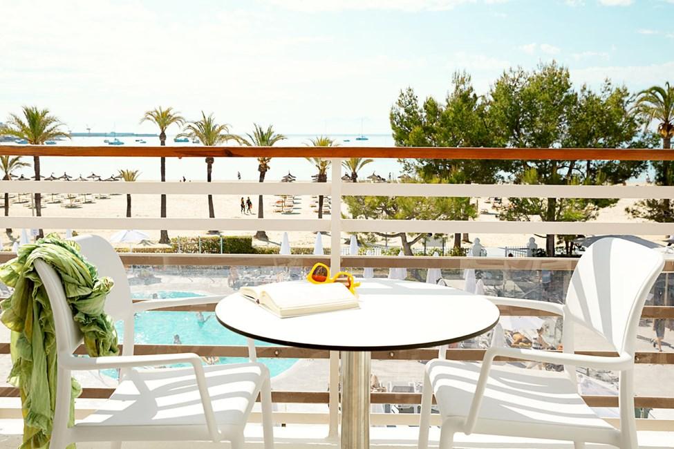 Tvårumslägenhet ROYAL FAMILY SUITE, balkong med begränsad havsutsikt, Princesa.