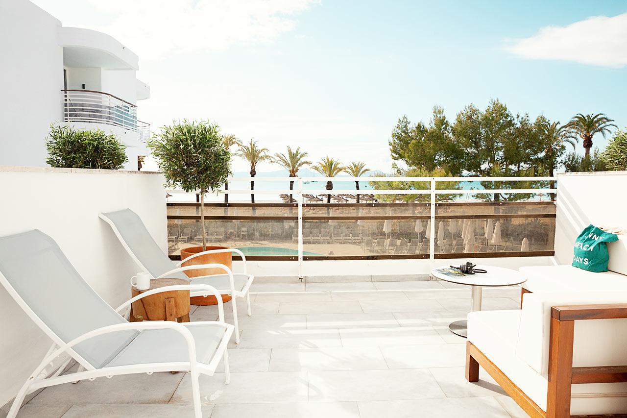 Tvårumslägenhet ROYAL LOUNGE SUITE, stor balkong med havsutsikt, Princesa.