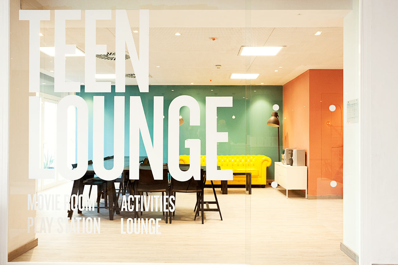 Teen Lounge i Princesa.