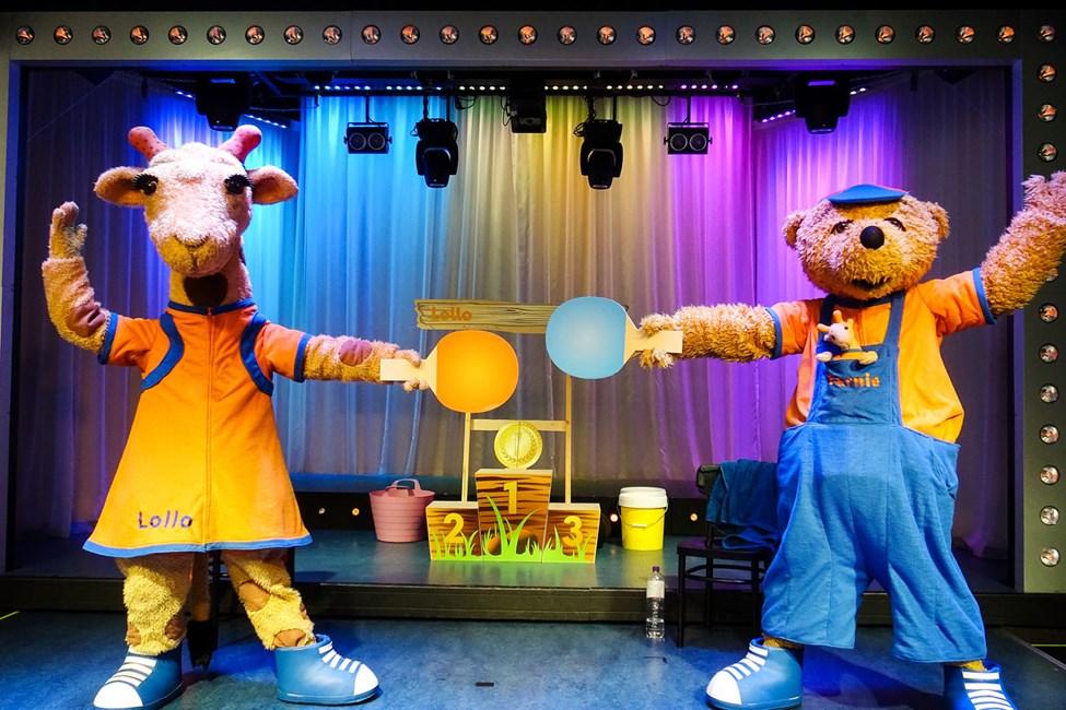 Lollo & Bernie underhåller små som stora med sina roliga shower.