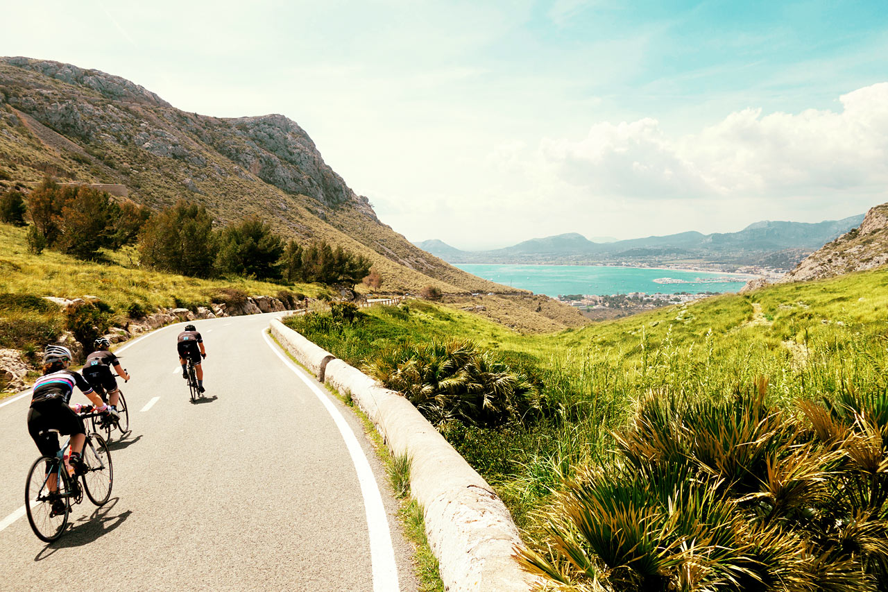 Tycker du om att cykla är Mallorca en bra val.