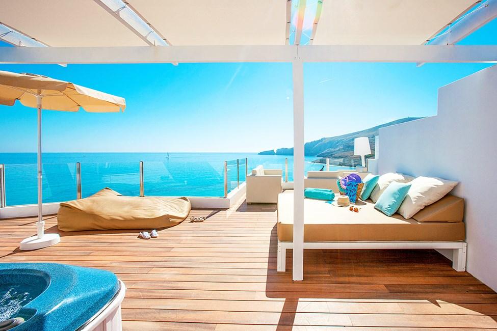 Tvårumslägenhet med stor takterrass och havsutsikt - Selection Club