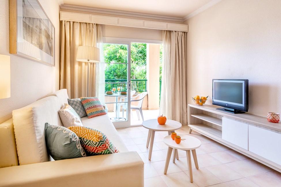 Exempel på vardagsrum i två- och trerumslägenheterna