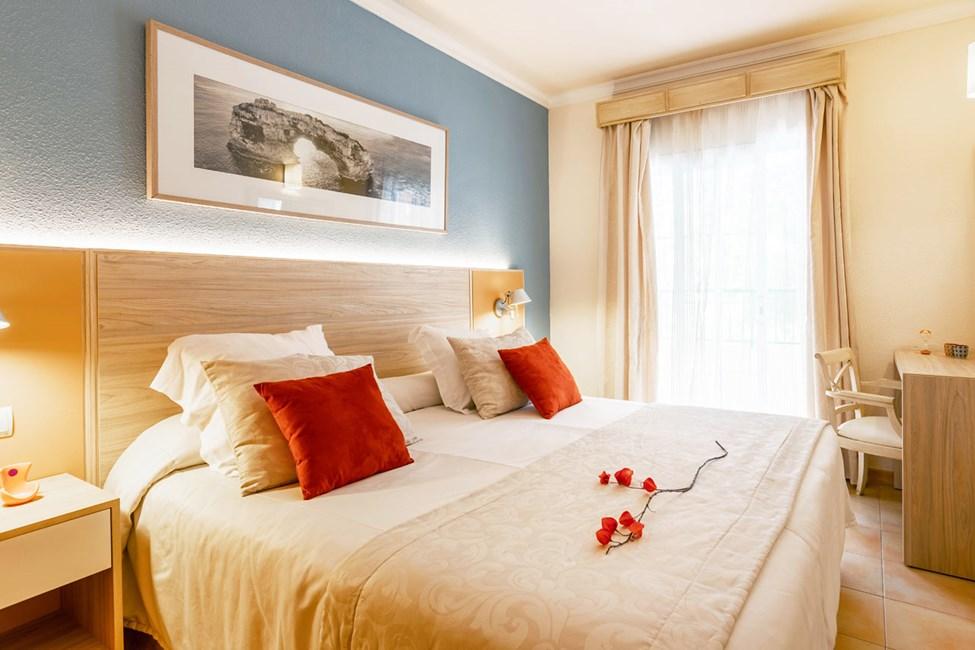 Exempel på sovrum i två- och trerumlägenheterna