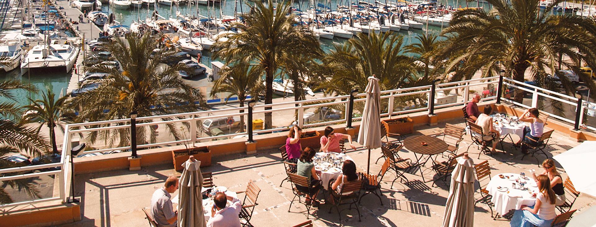 Mirador, Palma stad, Mallorca, Spanien
