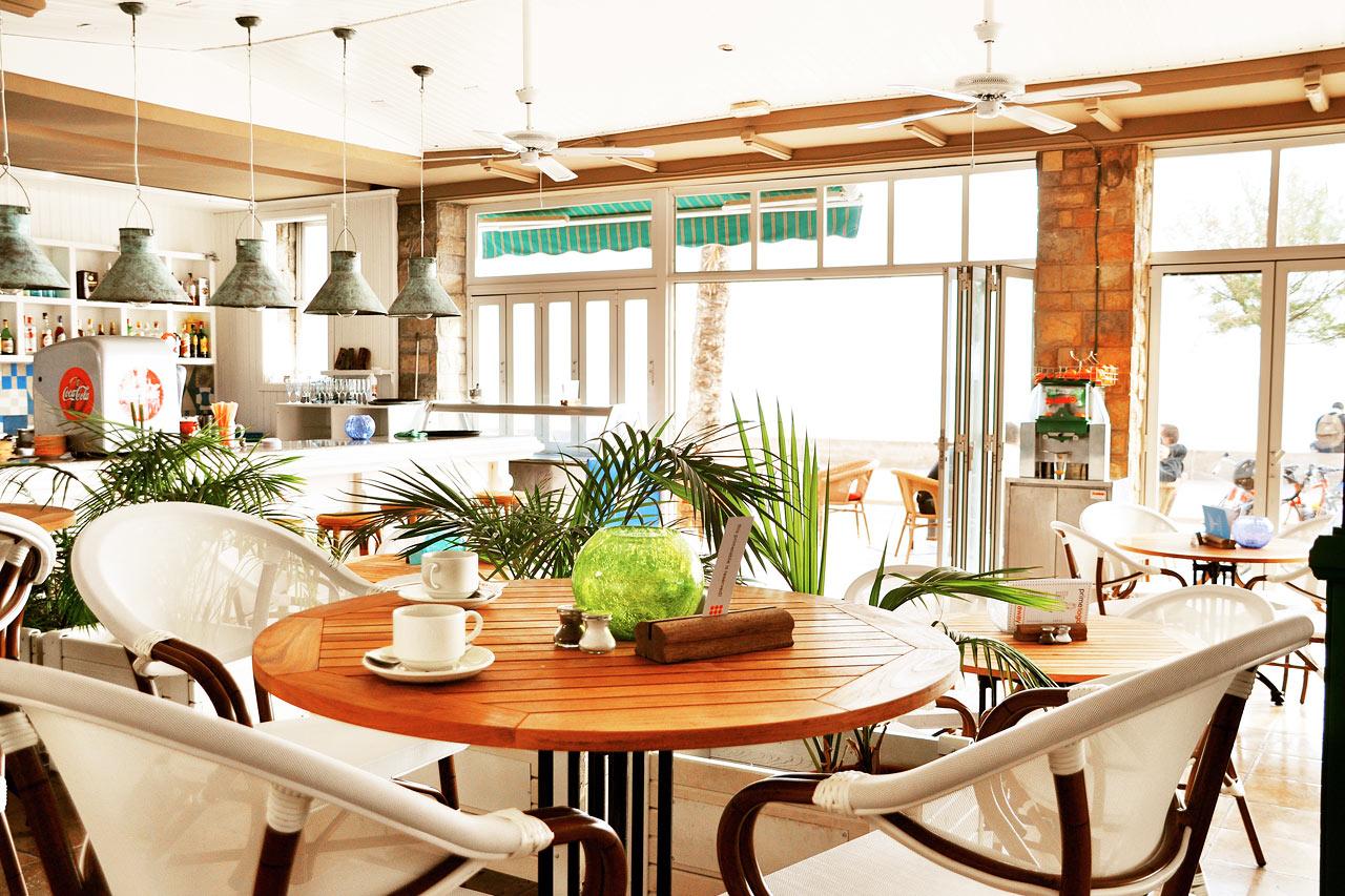 I Sunprime Restaurant äter du både frukost, lunch och middag