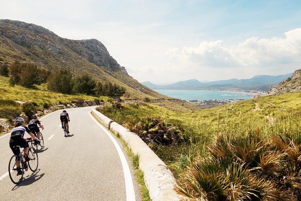 Mallorca är perfekt för cykling.