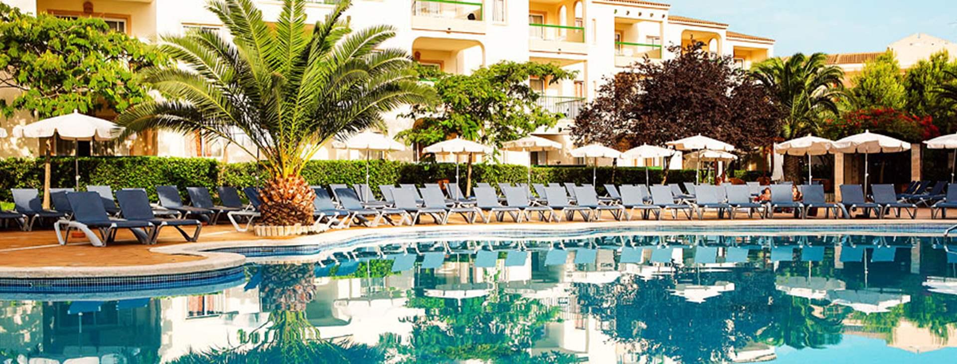 På Viva Tropic finns tre olika poolområden.