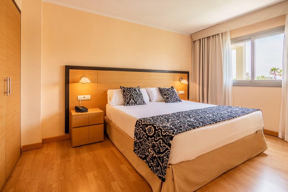Exempel på sovrum i tvårumslägenheterna