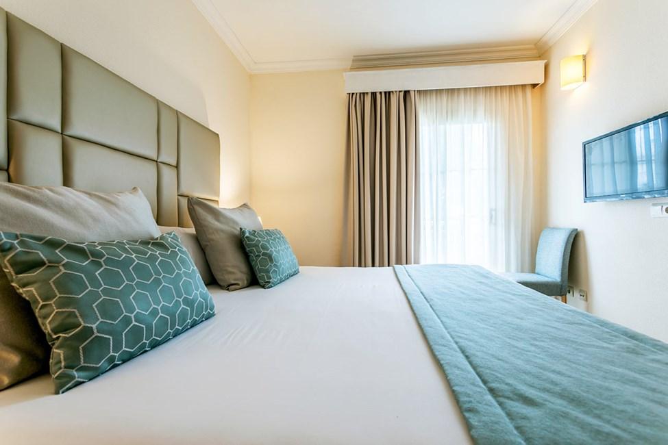 Sovrum i trerumslägenhet