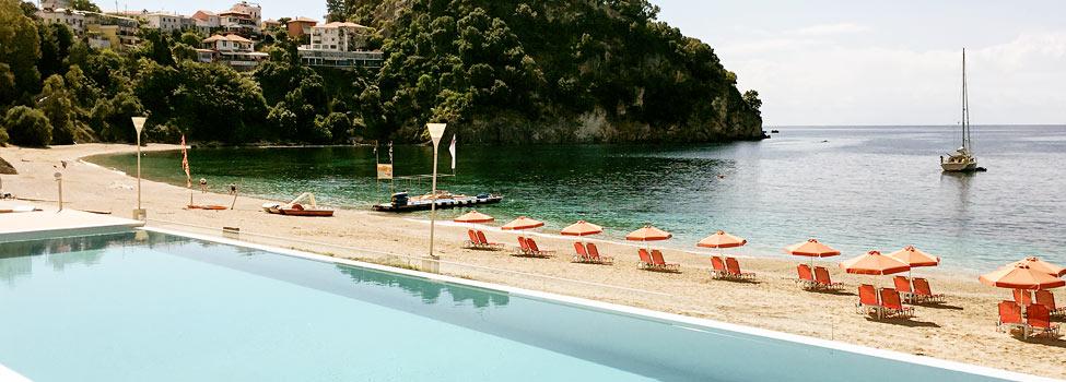 Ionion Beach, Parga, Parga-området, Grekland