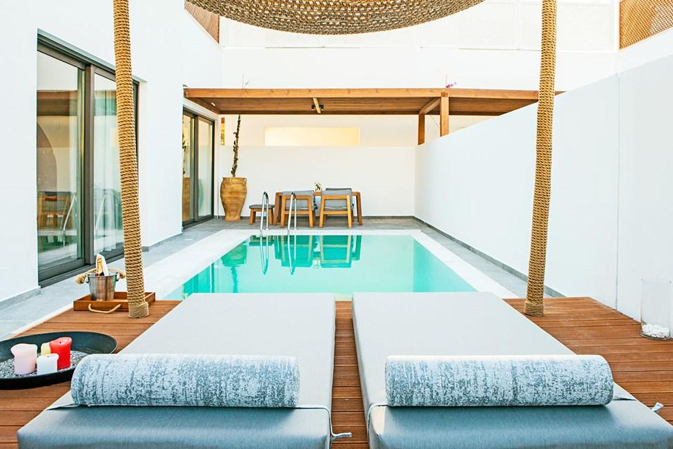 Bohemian svit med privat pool
