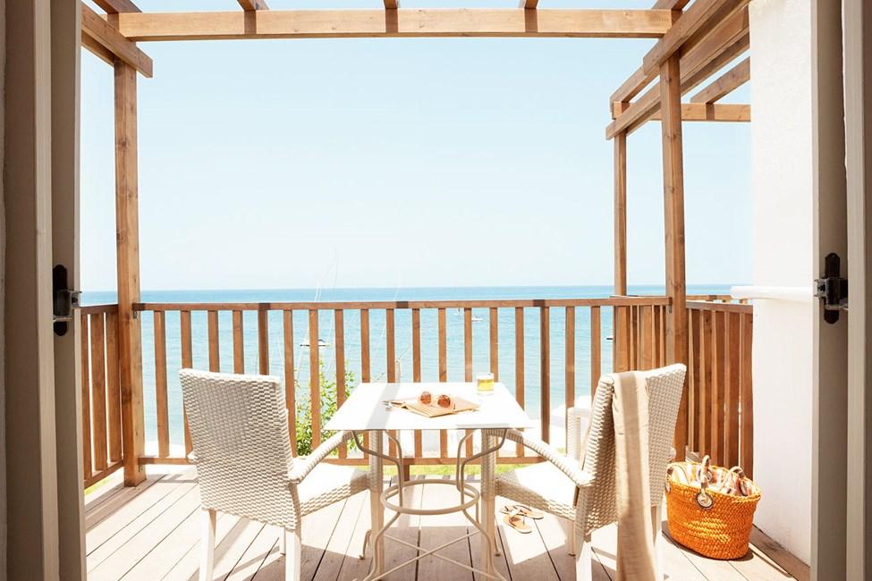 Junior Suite, balkong med havsutsikt