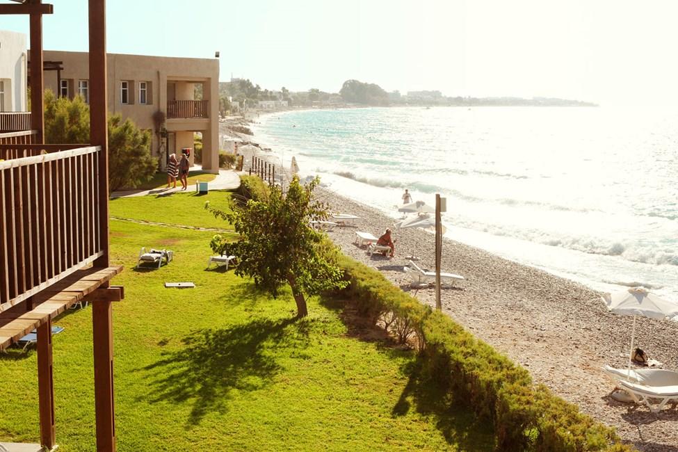Utsikt från en Junior Suite, balkong med havsutsikt