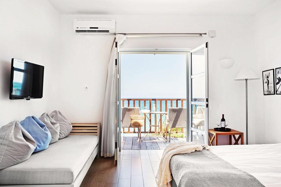 Classic Suite 1 rum balkong med havsutsikt