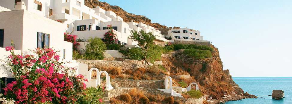 Ilidi Rock Beach, Livadia, Tilos, Grekland