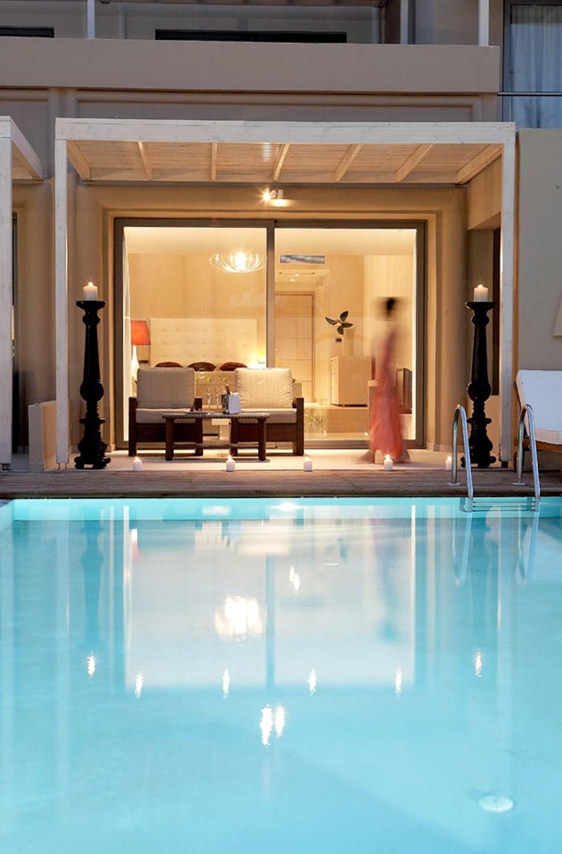 Dubbelrum med privat pool