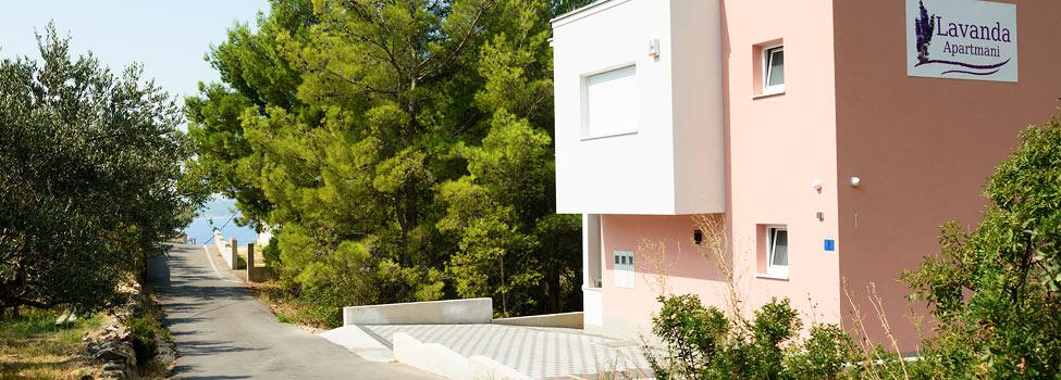Lavanda Apartments, Baska Voda, Makarska rivieran, Kroatien
