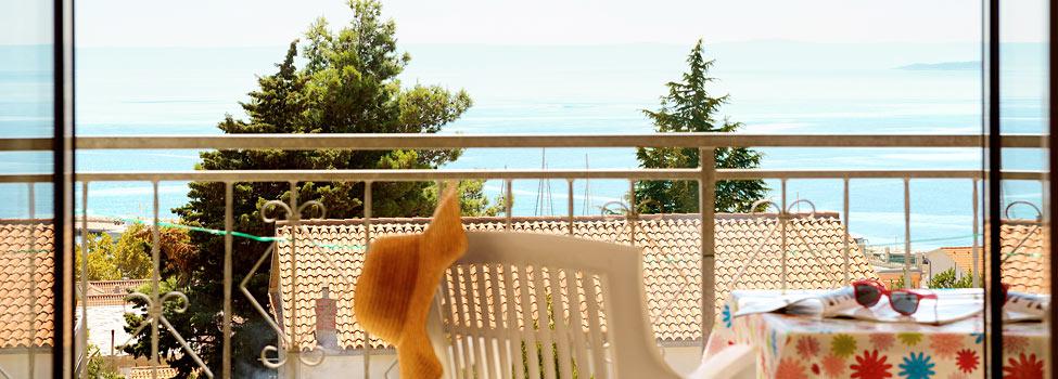 Simovic Apartment, Baska Voda, Makarska rivieran, Kroatien