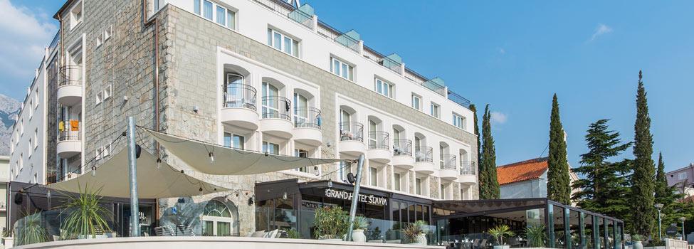 Grand Hotel Slavia, Baska Voda, Makarska rivieran, Kroatien