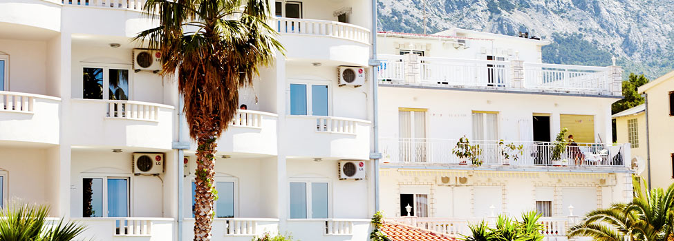 Zaja Apartment, Baska Voda, Makarska rivieran, Kroatien