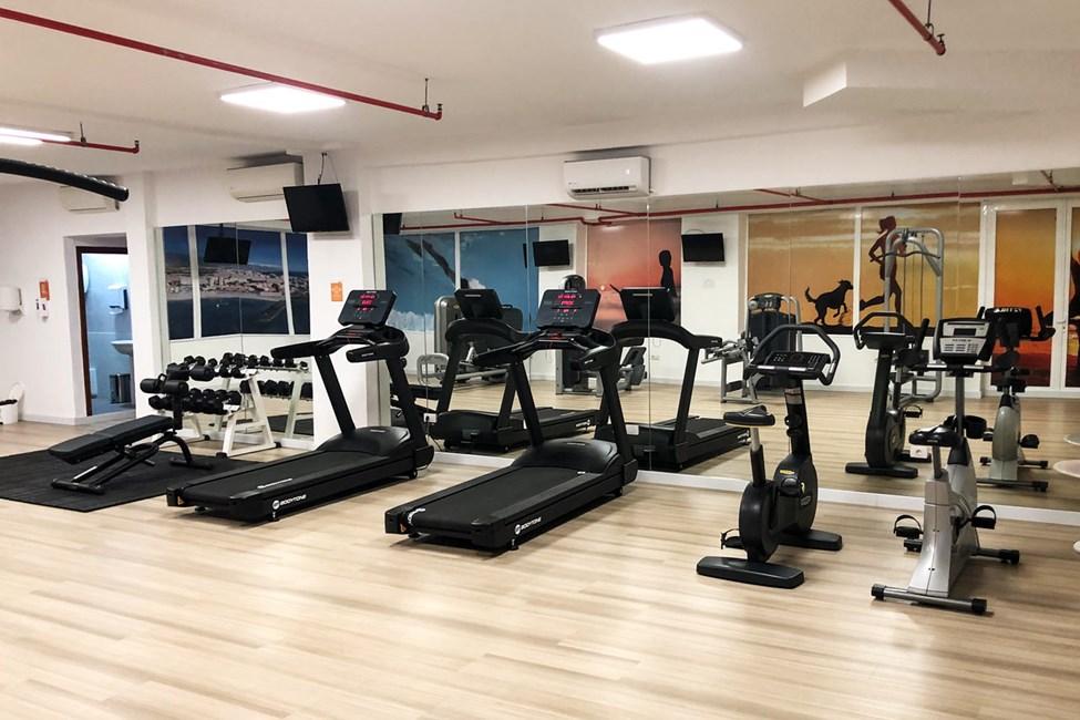 Exempel på hur gymmet kan komma att se ut