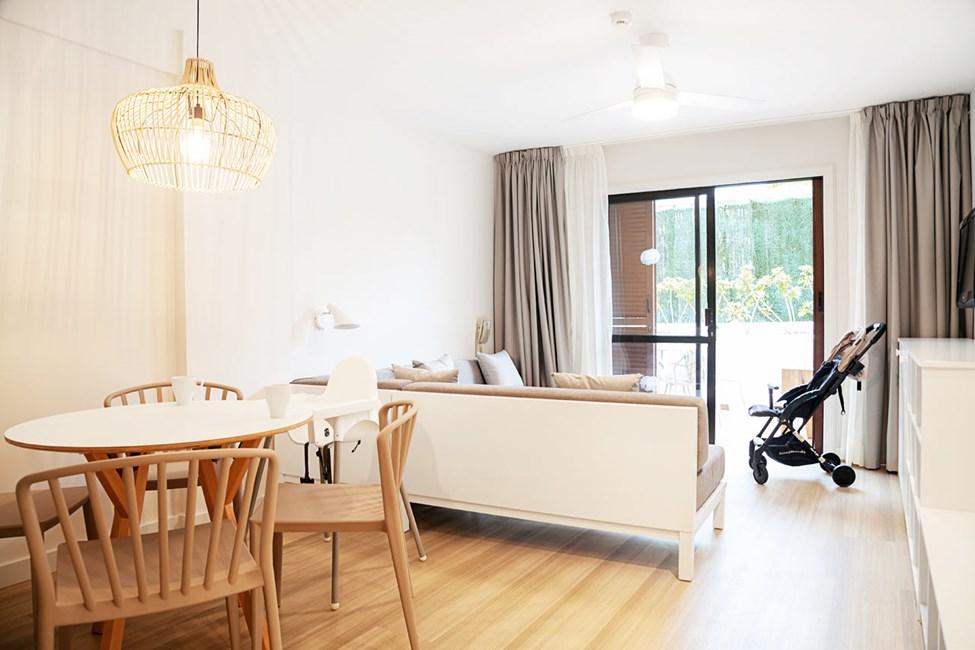 Lägenhetstyp A22HBT Tvårumslägenhet Family Garden Baby - med terrass
