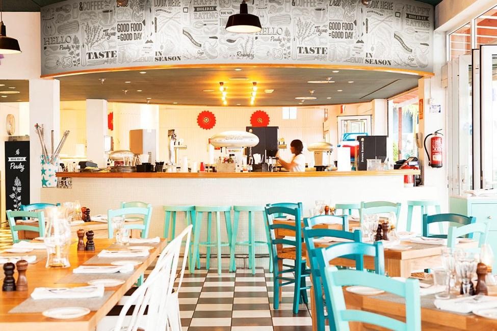 Vicente's Kitchen & Grill är hotellets nya kvarterskrog. Välkommen till bords!