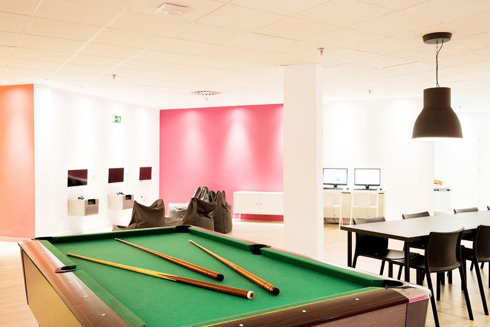 Teen Lounge för de äldre barn och tonåringar.