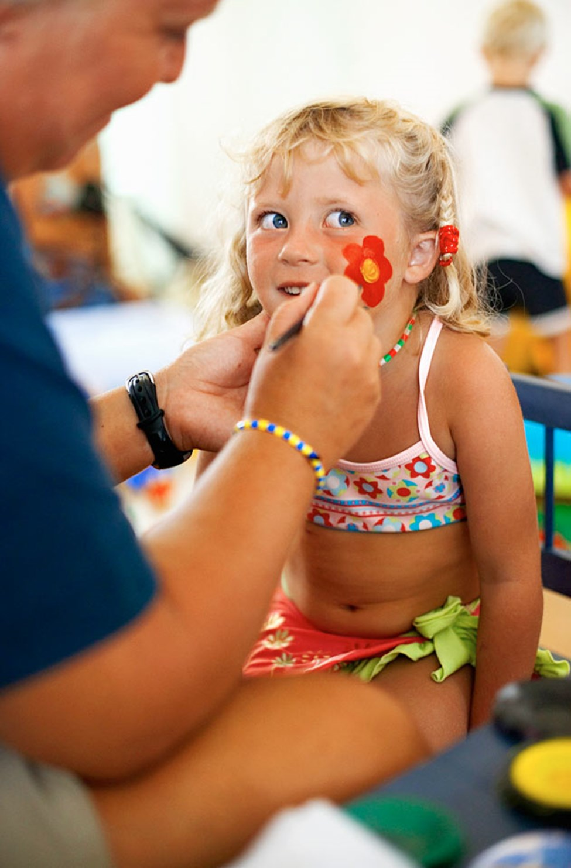 I Lollo & Bernies Mini Land erbjuds massor av aktiviteter för barnen.