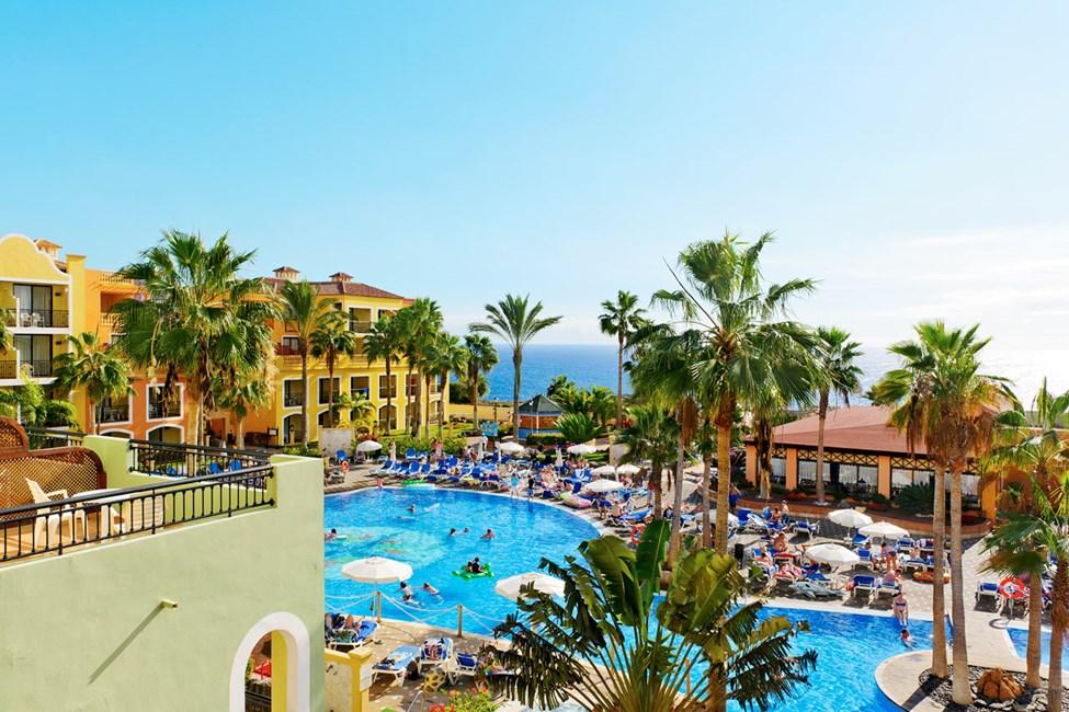 Poolområde vid Tenerife-delen