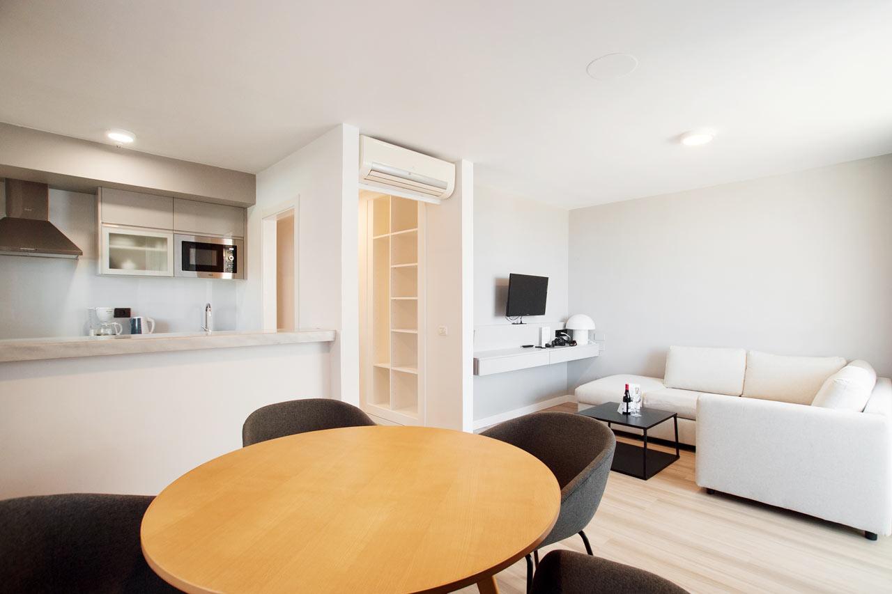 Vardagsrum i Junior Suite och Prime Lounge Suite