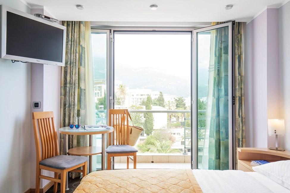 Dubbelrum med fransk balkong