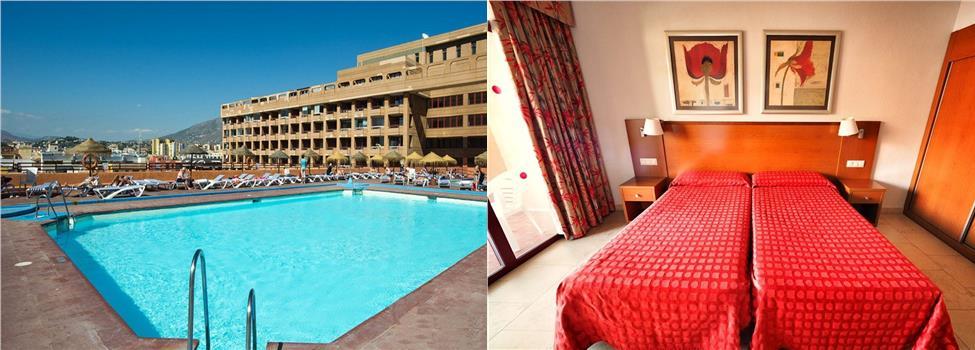 Las Palmeras Hotel, Fuengirola, Costa del Sol, Spanien