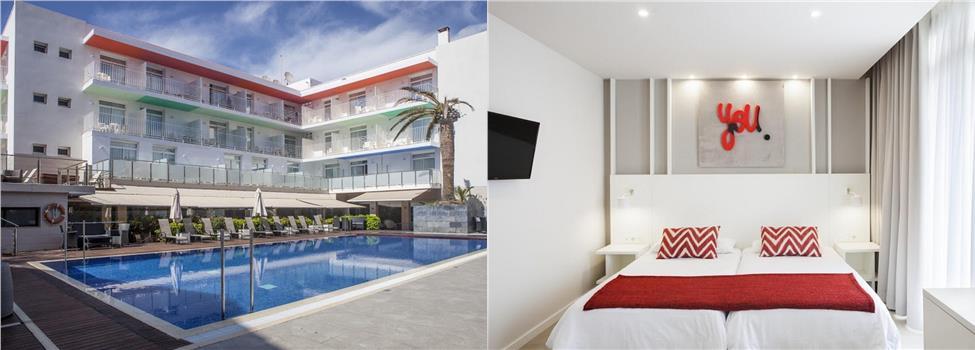 Ibersol Antemare Hotel, Sitges, Costa Dorada, Spanien