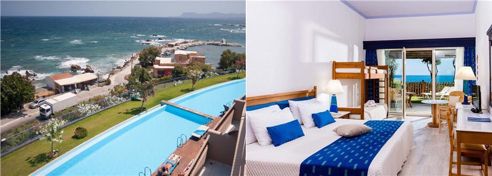 Panorama Hotel, Chaniakusten, Kato Stalos & Kalamaki, Kreta, Grekland