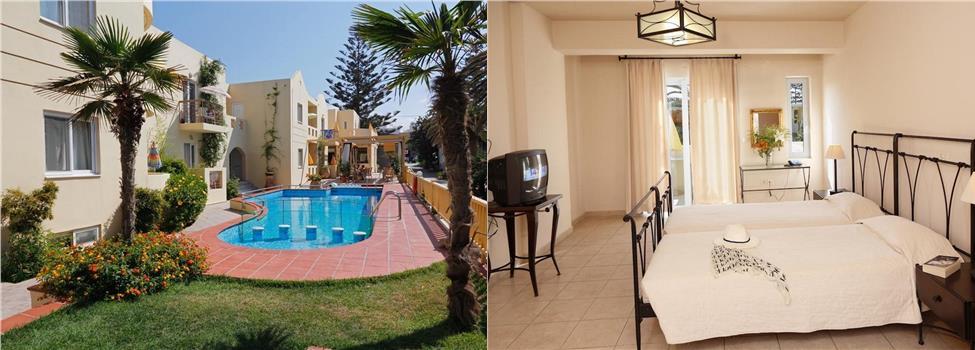 Lambrinos Suites, Chaniakusten, Platanias, Kreta, Grekland