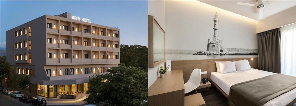 Kriti Hotel, Chaniakusten, Chania stad, Kreta, Grekland