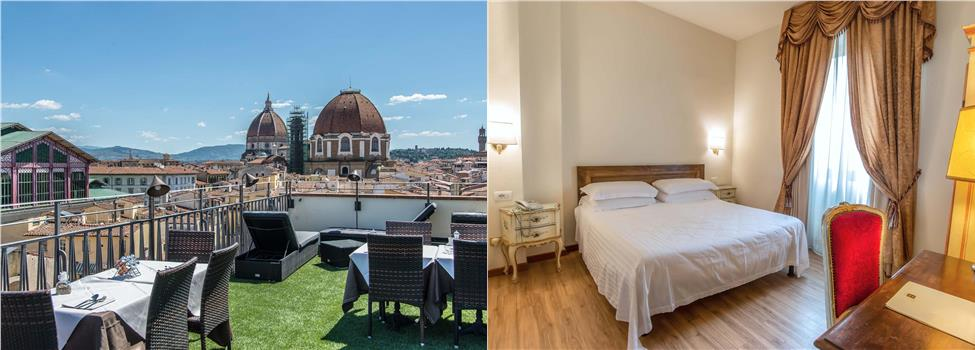 Machiavelli Palace, Florens, Toscana, Italien