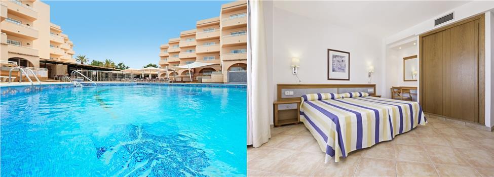 Azuline Hotel - Apartamento Rosamar, San Antonio, Ibiza, Spanien