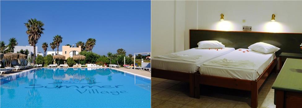 Summer Village Hotel, Marmari & Tigaki, Kos, Grekland