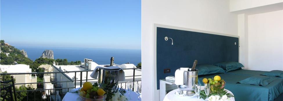 Regina Cristina Hotel, Capri, Amalfikusten, Italien