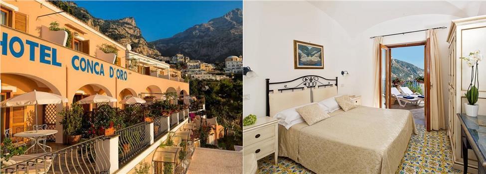 Conca d Oro, Positano, Amalfikusten, Italien