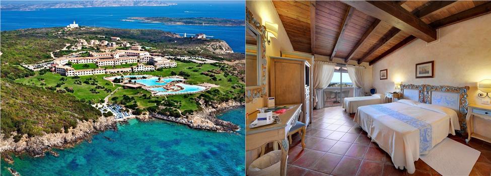 Colonna Resort, Costa Smeralda, Sardinien, Italien