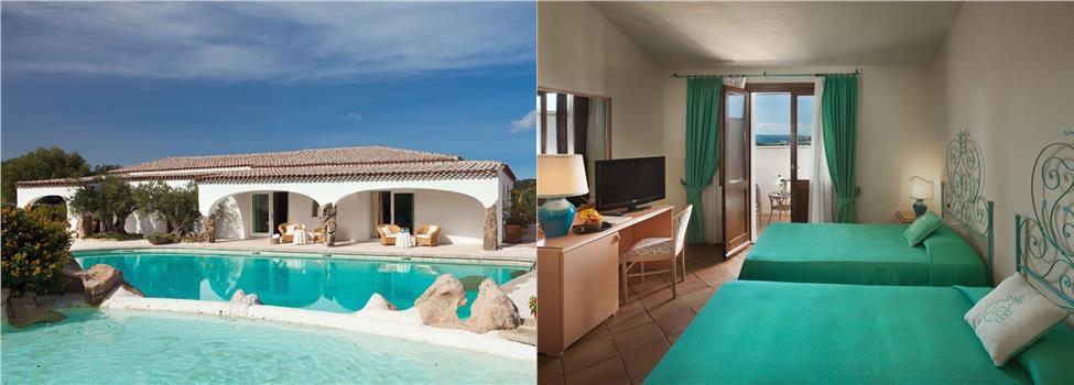 Pulicinu Hotel, Costa Smeralda, Sardinien, Italien