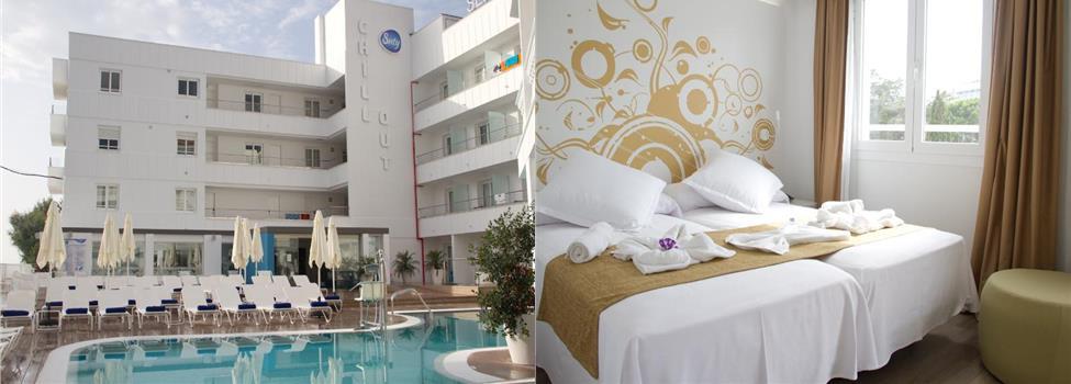 Chillout Hotel Triton Beach, Cala Ratjada, Mallorca, Spanien